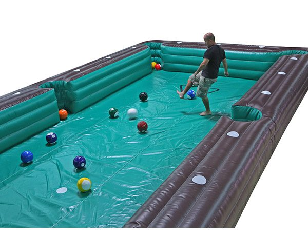 Soccer Billiards Inflatable Game Elon,  Activity, Games, Interactive, One-on-One, Soccer, Sports
