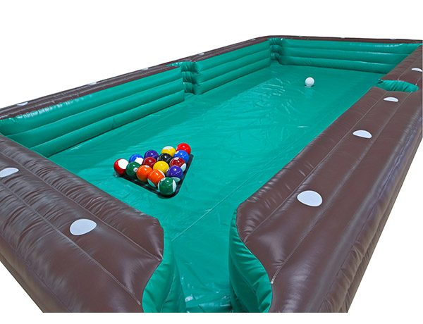 Soccer Billiards inflatable game for rent Greensboro,  Activity, Games, Interactive, One-on-One, Soccer, Sports