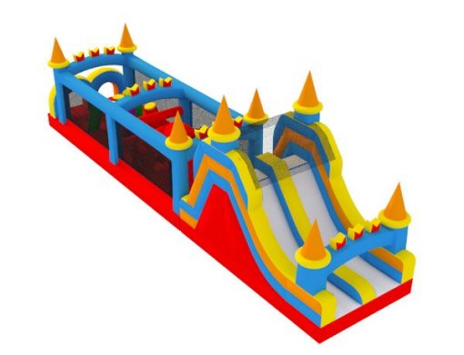 50 Castle Obstacle Course Rental Gibsonville,  Activity, Games, Gladiators, Interactive, Ninja, Obstacle Course