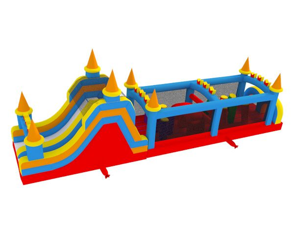 50 Castle Obstacle Course Rental Elon,  Activity, Games, Gladiators, Interactive, Ninja, Obstacle Course