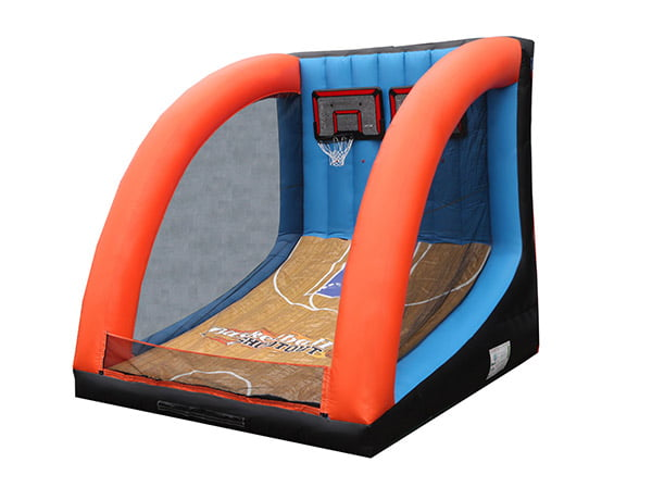Basketball Shootout Inflatable Game Greensboro Events,  Activity, Basketball, Games, Interactive, One-on-One, Sports