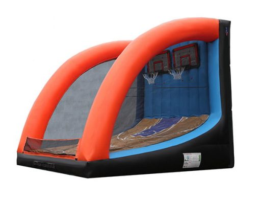 Basketball Shootout Inflatable Game Corporate event,  Activity, Basketball, Games, Interactive, One-on-One, Sports
