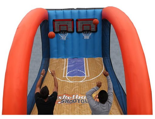 Basketball Shootout Inflatable Game kids birthday,  Activity, Basketball, Games, Interactive, One-on-One, Sports