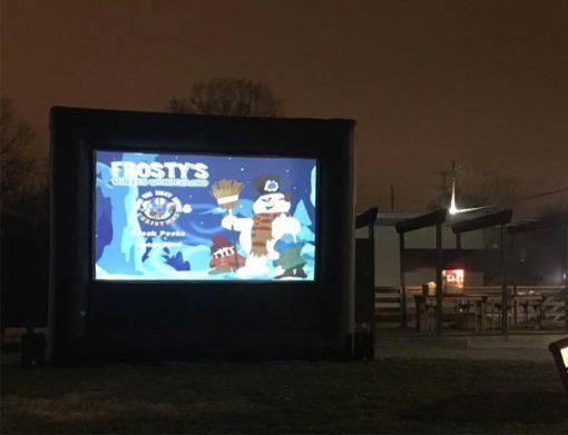 ,  Huge Movie Screen, Inflatable Movie Screen, Outdoor Movie Night