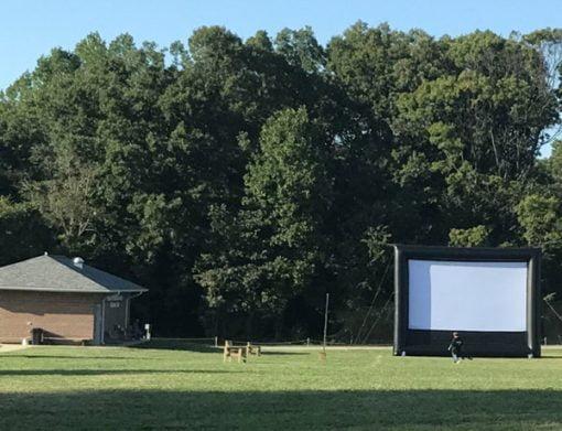 ,  Huge Movie Screen, Movie Screen Inflatable, Outdoor Movie Night