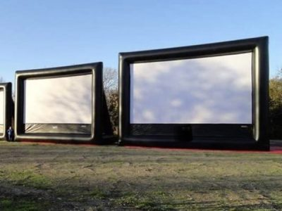 ,  Inflatable Movie Screen, Movie Night, Outdoor Movie