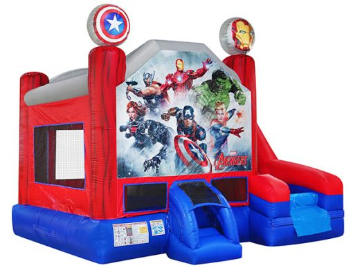 Avengers Combo Bouncehouse,  Avengers, Bouncehouse, Guardians of the Galaxy, Hulk, Ironman