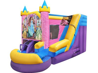 Disney Princess Bouncehouse,  Ariel, Belle, Bouncehouse, Cinderella, Disney, Jasmine, Princess, Rapunzel, Tiana