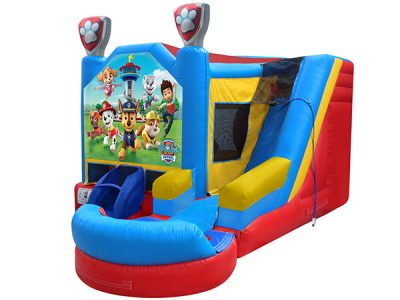 Paw Patrol Combo Bouncehouse,  Adventure Bay, Bouncehouse, Paw Patrol, Pups, Ryder