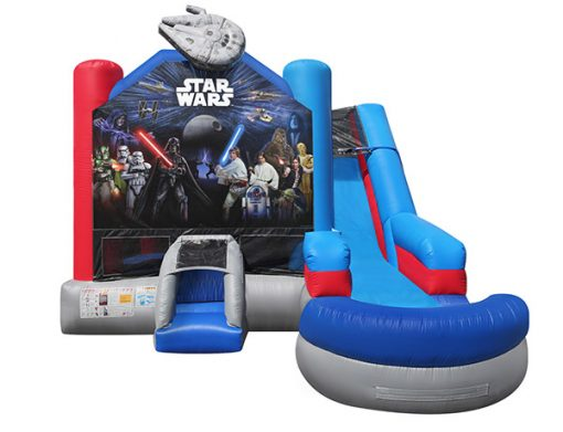 Star Wars Combo Bouncehouse,  Bouncehouse, Hans Solo, Jedi, Luke Skywalker, Star Wars